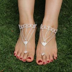 Rhinestone Alloy Foot Smykker (Selges i ett stykke) (107122431)