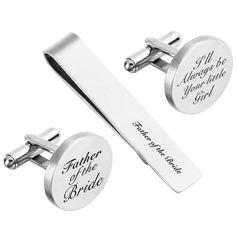 Boutons de manchette Pince à Cravate Style Classique Alliage personnalisé Cadeaux (129166785)