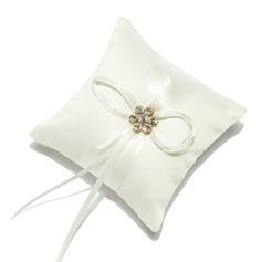 Mini Descanso do anel em Cetim com Strass (103053080)