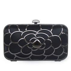 Уникальный Шелковые/Нержавеющая сталь Клатчи (012052494)