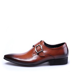 Hommes Similicuir Sangles de moine Chaussures habillées Travail Chaussures Oxford pour hommes (259172243)
