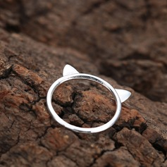 Legering Unieke Alloy Cat Ear Women's Fashion Rings Geschenken (129140575)