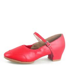 Femmes Similicuir Talons Salle de bal Chaussures de danse (053164155)