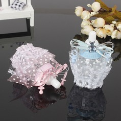 Sød Kærlighed/Kreative Flaske formede Plastic Slikkrukker og Flasker med Blonder (sæt af 12) (050166444)