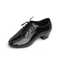 Детская обувь кожа На каблуках Практика с Шнуровка Обувь для танцев (053048828)