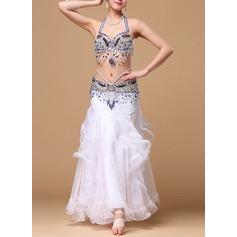 Женщины Одежда для танцев хлопок полиэстер шифон Танец живота Инвентарь (115086460)