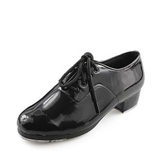 De mujer De los hombres Unisex Cuero Tap Zapatos de danza (053013334)