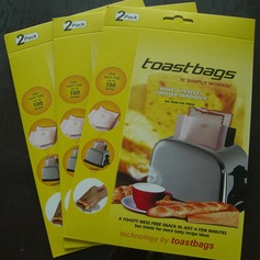 Modern Classic Treats Non Stick Reusable Toaster Bags for Sandwich and Grilling (Set of 2) Non-personalized Gifts (129140474)