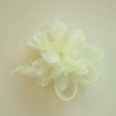 Дамы Красивая чистая пряжа/шелковые цветы лоб ювелирные изделия (042143687)