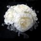 Изящные Ручная работа Атлас Свадебные букеты - (123031499)
