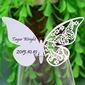 Disegno della farfalla Carta perlata Segnaposti (Set di 12) (131037410)