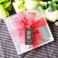 Chinese Wedding Gift LOVE Glass Coasters Set (set of 2pcs) 2) (051178601)