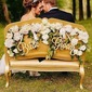 Simple/Classic/Bride and Groom Wooden Wedding Sign (set of 2) (131167245)
