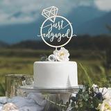 Comprometido Acrílico/Madera Decoración de tortas (119205825)