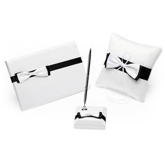 Negro y blanco Set de colección con Del bowknot (100017972)