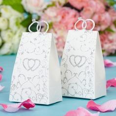 Doble Corazón Forma Cajas de regalos (Juego de 12) (050038232)