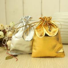 Con Cordón Metálico Bolsos de regalos (Juego de 12) (050019811)