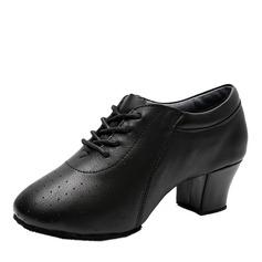 Naisten Aitoa nahkaa Modern Käytäntö Tanssikengät (053130677)