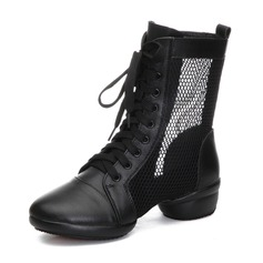 Naisten Aitoa nahkaa Mesh Tanssi sneakers Modern Tanssi sneakers Tanssisali Tanssikengät (053182631)